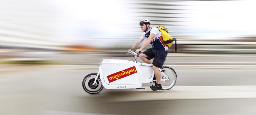 Das Lastrad Mit Elektroantrieb Für Profis